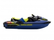 immagine 2 di WAKE STD 170 MALIBU BLUE & NEON YELLOW