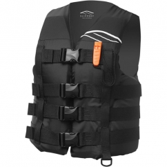 Slippery Hydro Black Nylon Vest